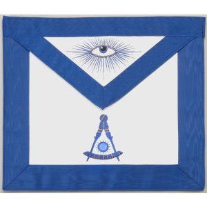Past Master Apron Hand Embroidered 309P