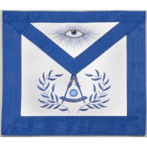 Past Master Apron Hand Embroidered 310P