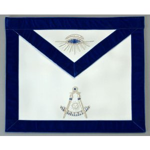 Past Master Apron Hand Embroidered 312
