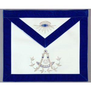 Past Master Apron Hand Embroidered 313