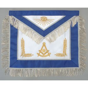 Past Master Apron Hand Embroidered 325
