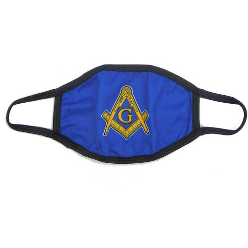 Blue Masonic Face Covering #4201