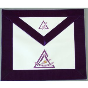 Past Illustrious Master Apron