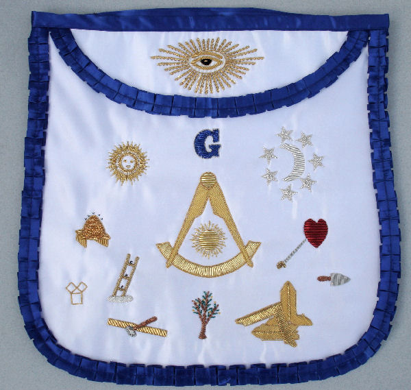 Custom Past Master Apron