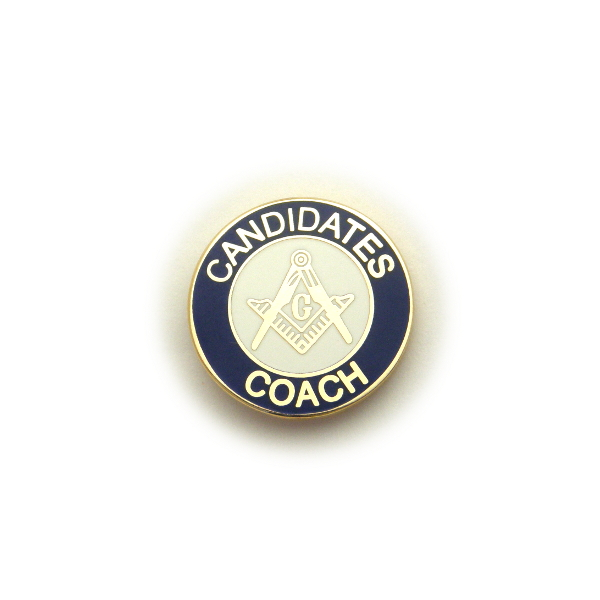Candidate\'s Coach Pin