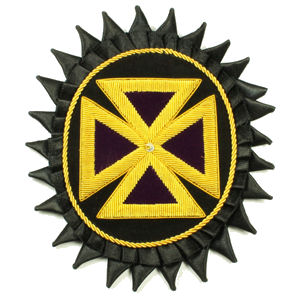 Knight Templar Chapeau Rosette Past Grand Commander KT-303B