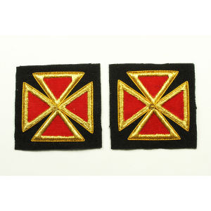 Grand Commandery Sleeve & Collar Crosses KT-213M