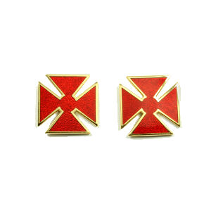 Grand Commandery Sleeve & Collar Crosses KT-214G