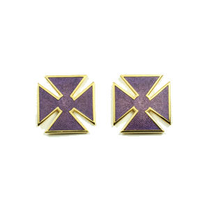 Past Grand Commander Sleeve & Collar Crosses KT-217G