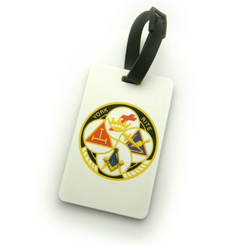 York Rite Luggage Tag LT-4