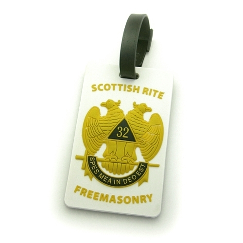 Scottish Rite Luggage Tag LT5