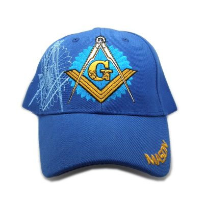 Masonic Ball Cap Royal Blue #2119