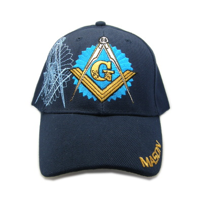 Masonic Ball Cap Navy Blue #2120