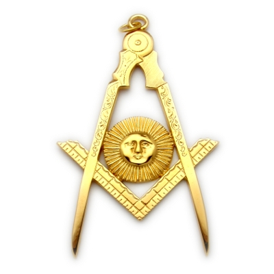 Officer Collar Jewel RBL-1 Gold Senior Deacon