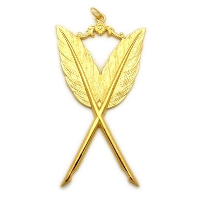 Secretary Masonic Gold Collar Jewel