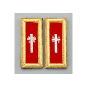 Knights Templar Shoulder Boards KT-107