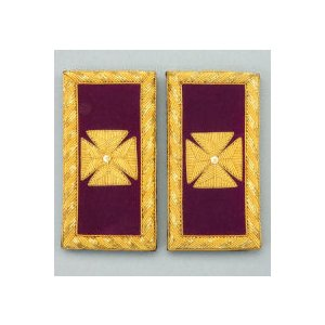 Knights Templar Shoulder Boards KT-109B