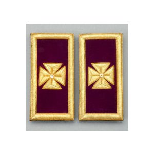 Knights Templar Shoulder Boards KT-109M