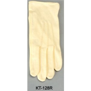 Cotton Buff Gloves with Rubber Palms KT-128R