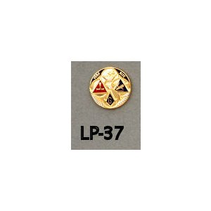 York Rite Pin  LP-37