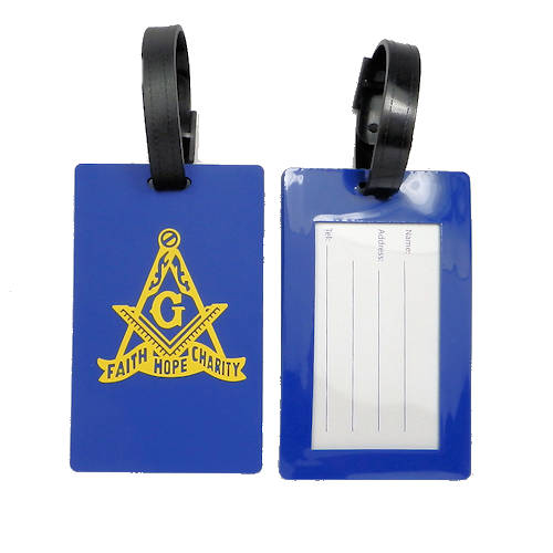 Masonic Luggage Tag LT-8
