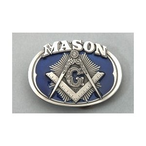 Masonic Belt Buckle #MB-10