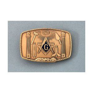 Masonic Belt Buckle #MB-1