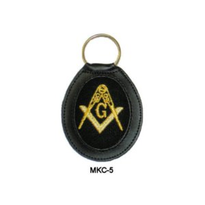 Embroidered Masonic Key Tags MKC-5