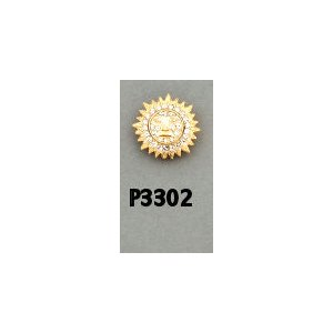 O.E.S Star Point Pin P3302 Assoc. Matron