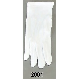Master Mason Gloves Plain White #2001